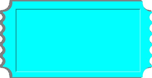 600x309 Lt Blue Ticket Clip Art
