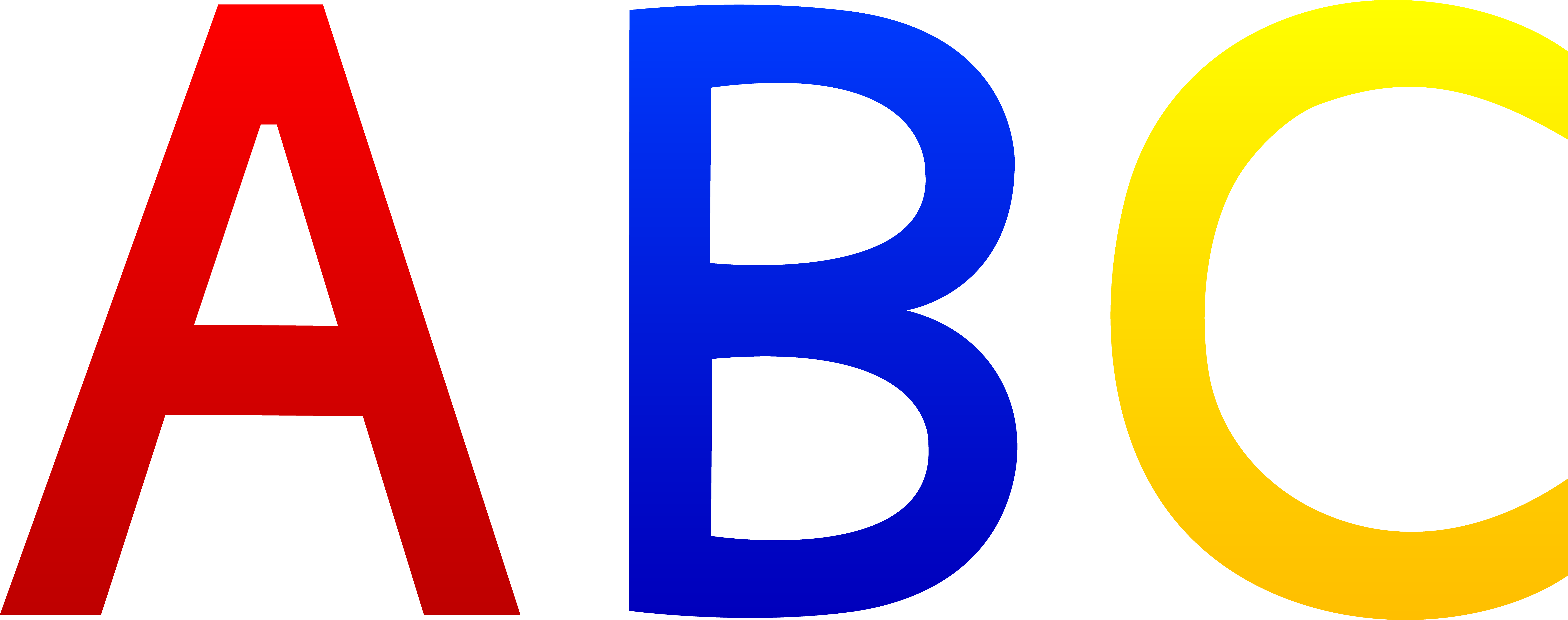 7608x3008 Free Letters