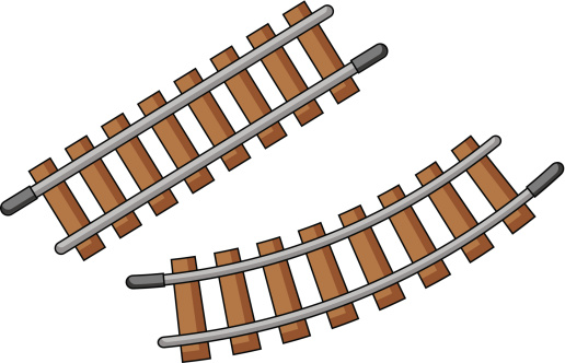 516x332 Clipart Railroad Tracks Collection