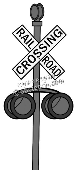 Railroad Crossing Sign Clipart | Free download best Railroad