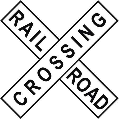 image regarding Railroad Crossing Sign Printable named Railroad Crossing Signal Clipart Cost-free down load easiest Railroad