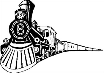 350x247 Front Of Train Clipart