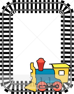 308x388 Train Border Clip Art Party Clipart Amp Backgrounds