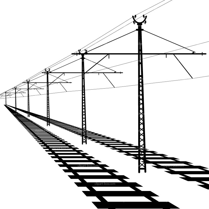 800x800 Train Rail Clipart