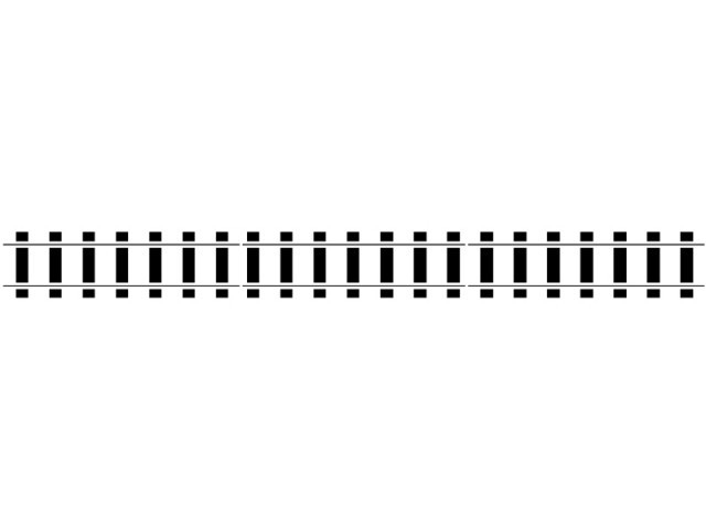 640x480 Train Tracks Border Clipart