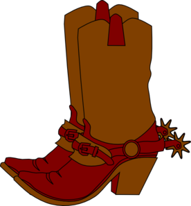 276x297 Clipart Boots