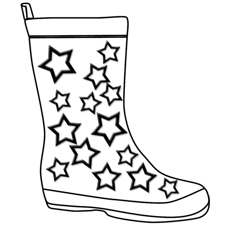 Rain Boot Clipart