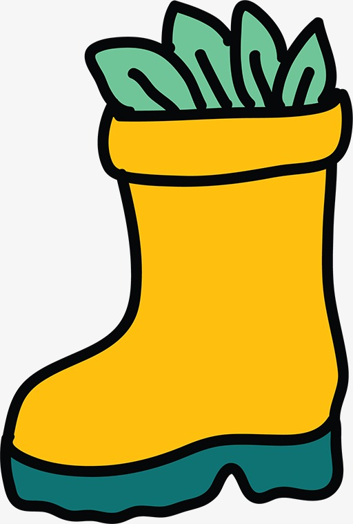 512x758 Cartoon Rain Boots, Cartoon, Pink, Rain Boots Png Image For Free