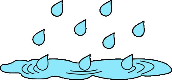 550x256 Rain Puddle Clip Art