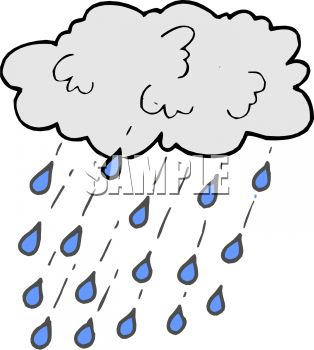 314x350 Rain Clipart Cartoon