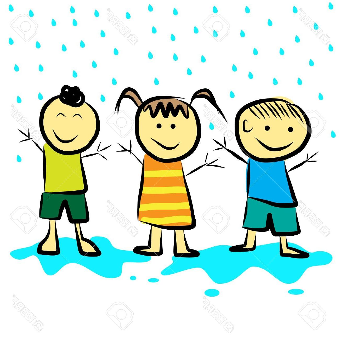 1300x1300 Best Dancing In The Rain Clip Art Image Free Vector Art, Images