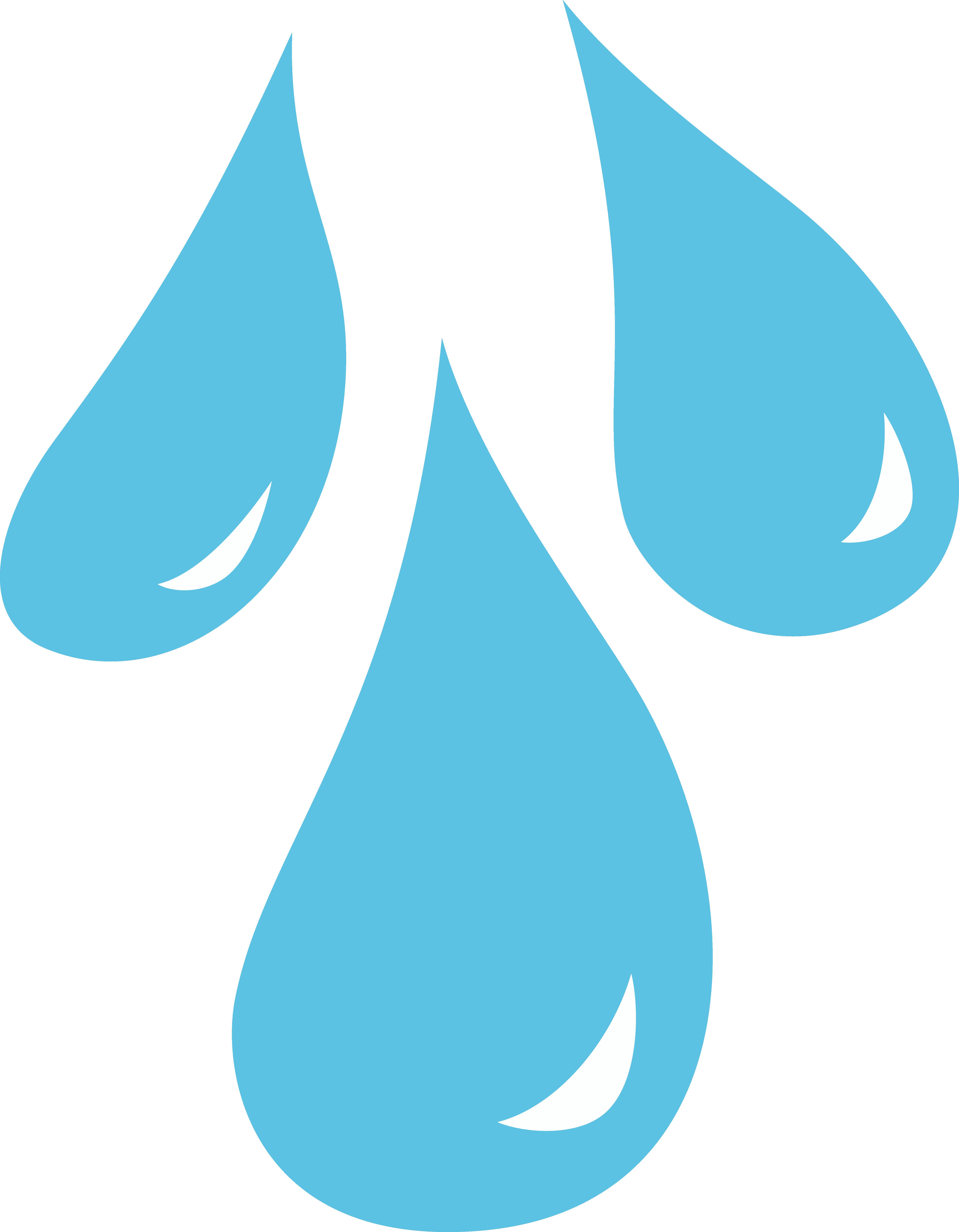 5000x6426 Water Drop Clipart