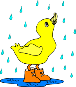261x298 Duck in The Rain Clip Art (39+)