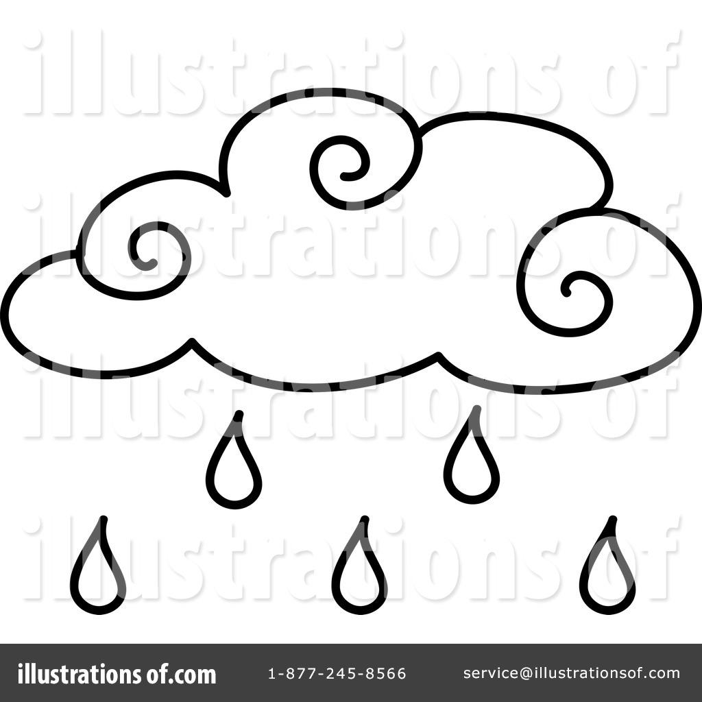 1024x1024 Rain Clipart