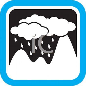 350x350 Rain Falling On A Mountain