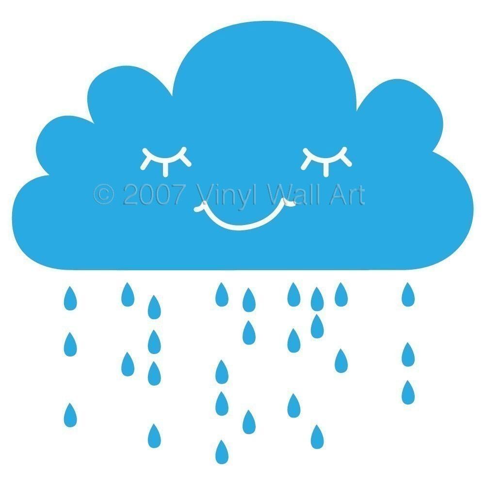 1000x1000 Rain Clipart Image Clip Art Rain Clouds 2