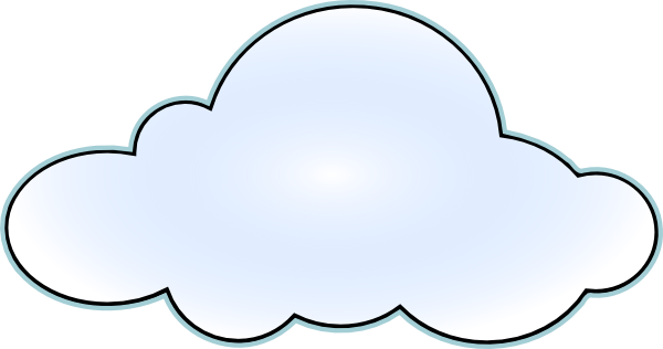 Rain Cloud Cartoon Clipart