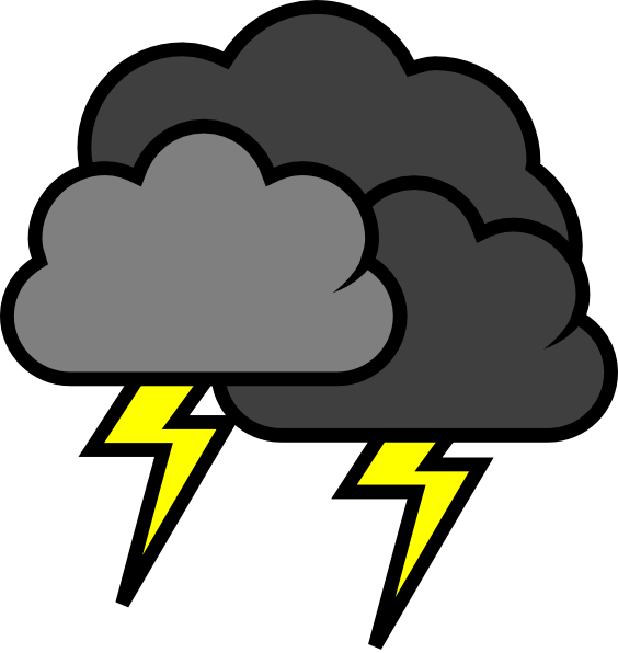564x596 Rain Cloud Clipart 18