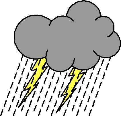 422x405 Best Rain Cloud Clipart