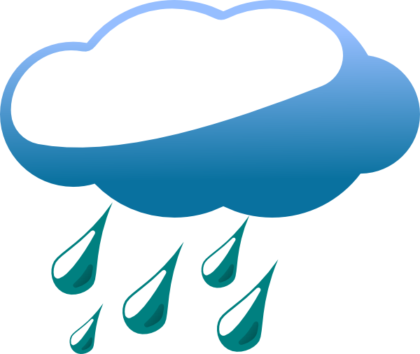 600x506 Rainy Cloud Clip Art