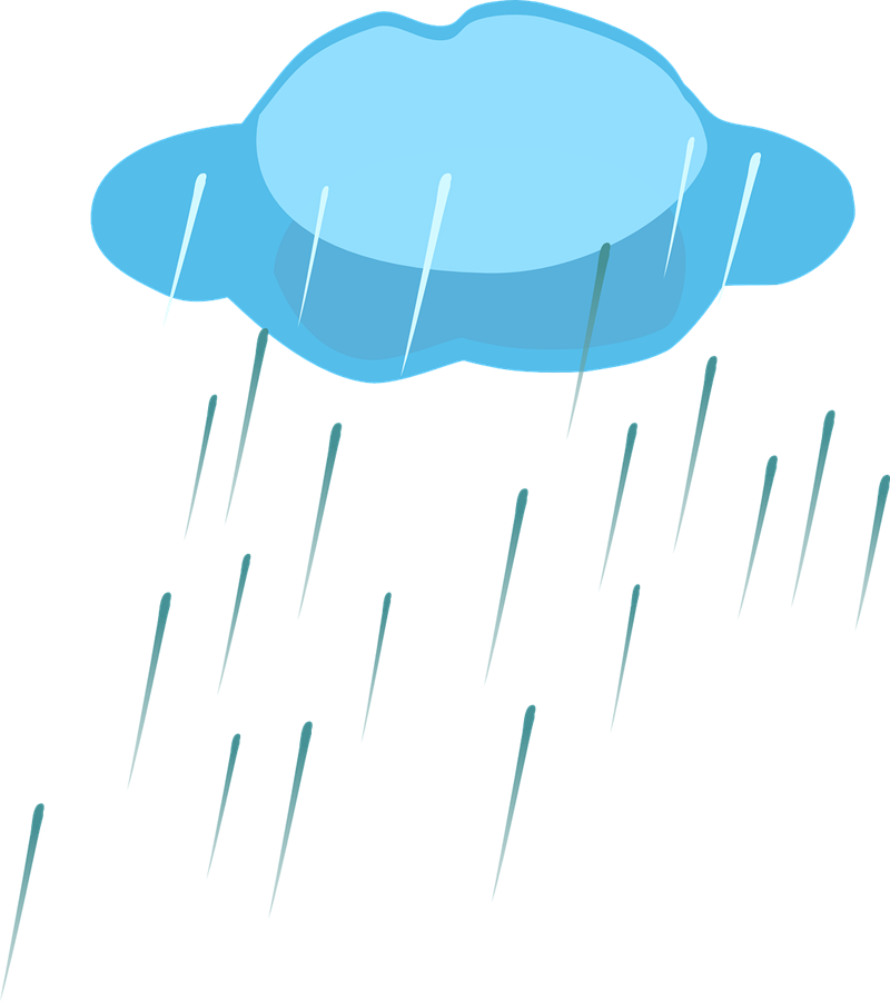 800x900 Clip Art Rain