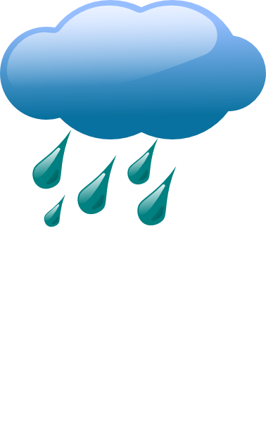 378x598 Cloud Amp Rain Clip Art