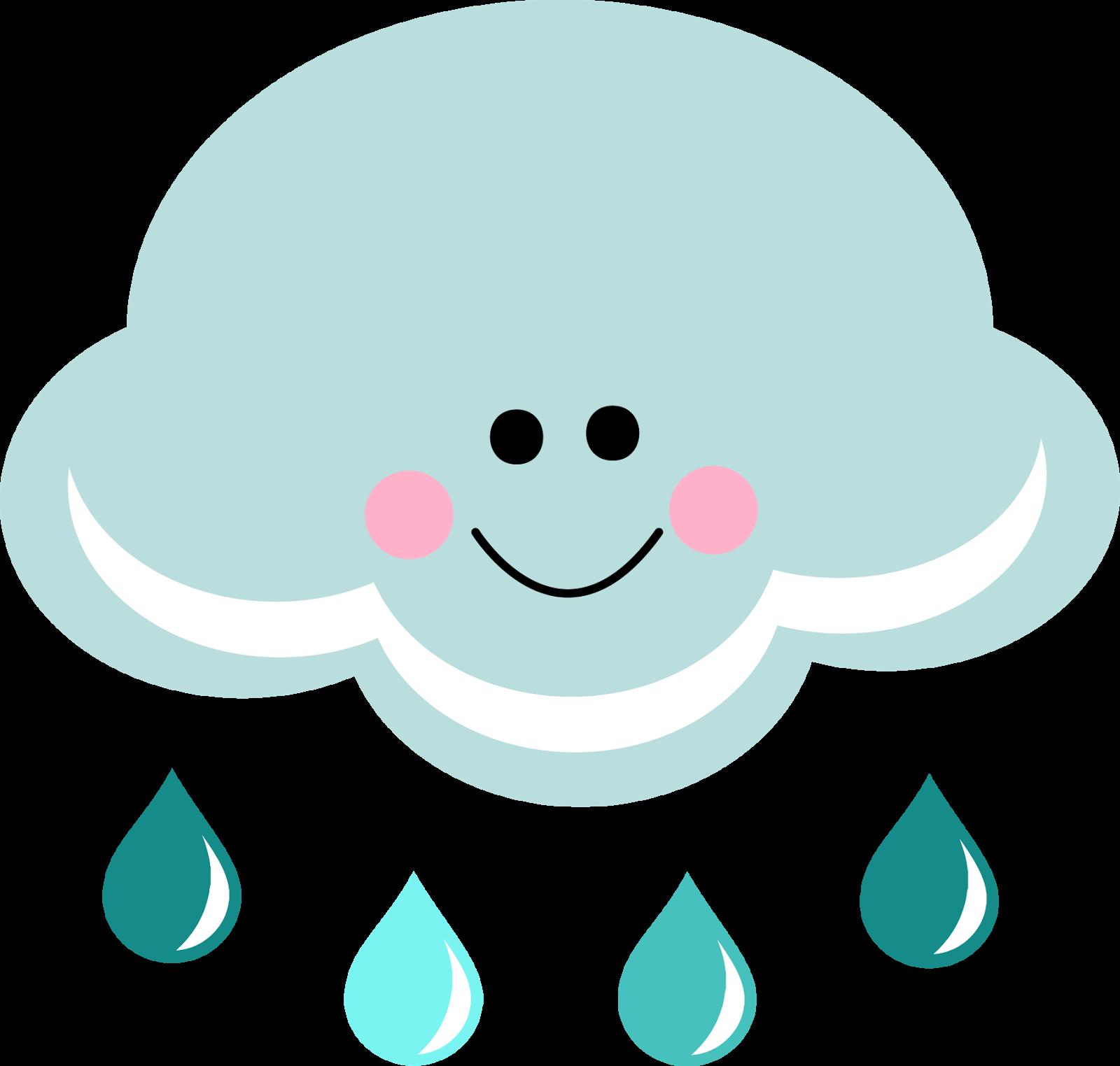 1600x1524 Happy Rain Cloud Clipart Clipartfest