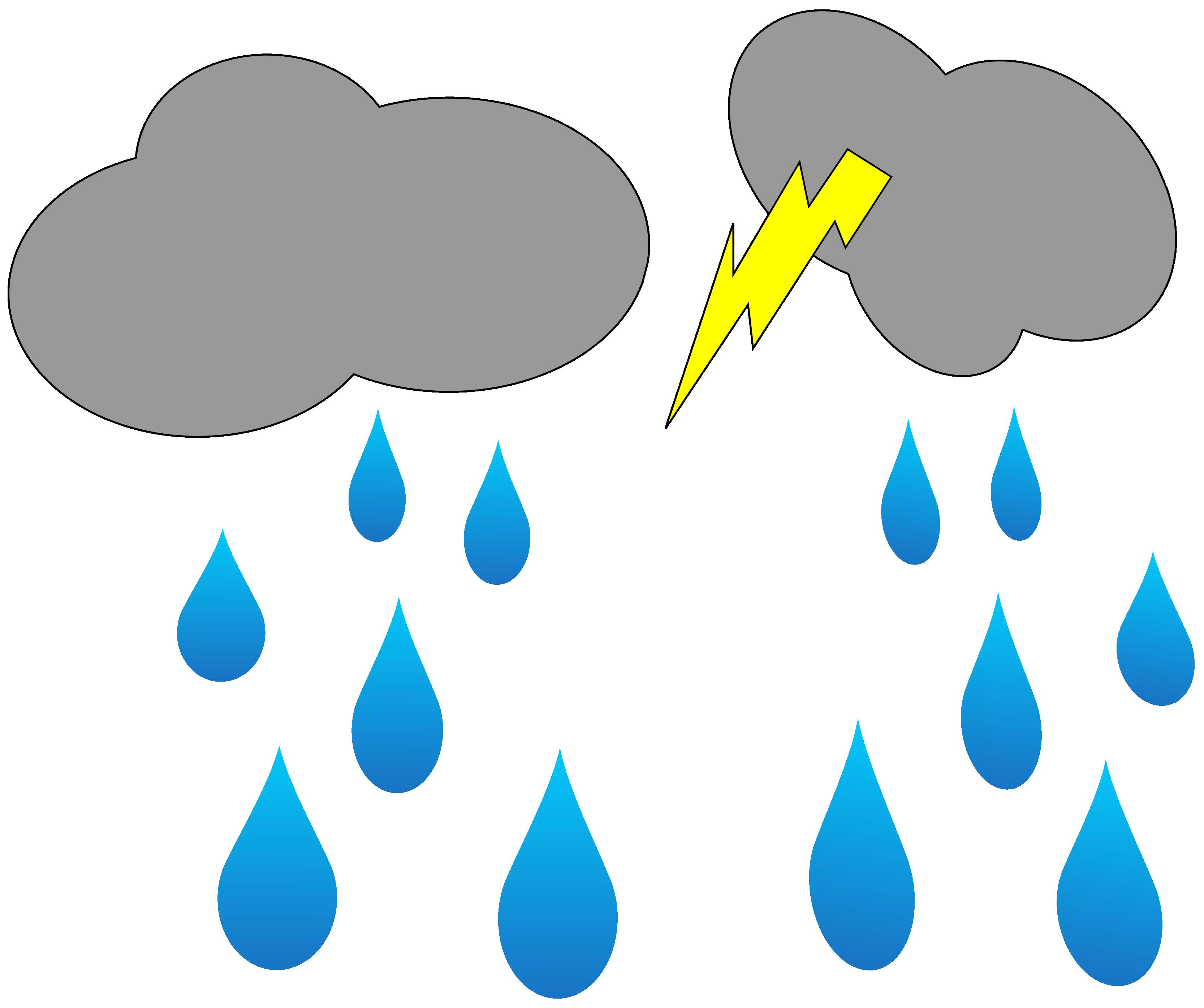 3333x2789 Lightning Clipart Rain Cloud
