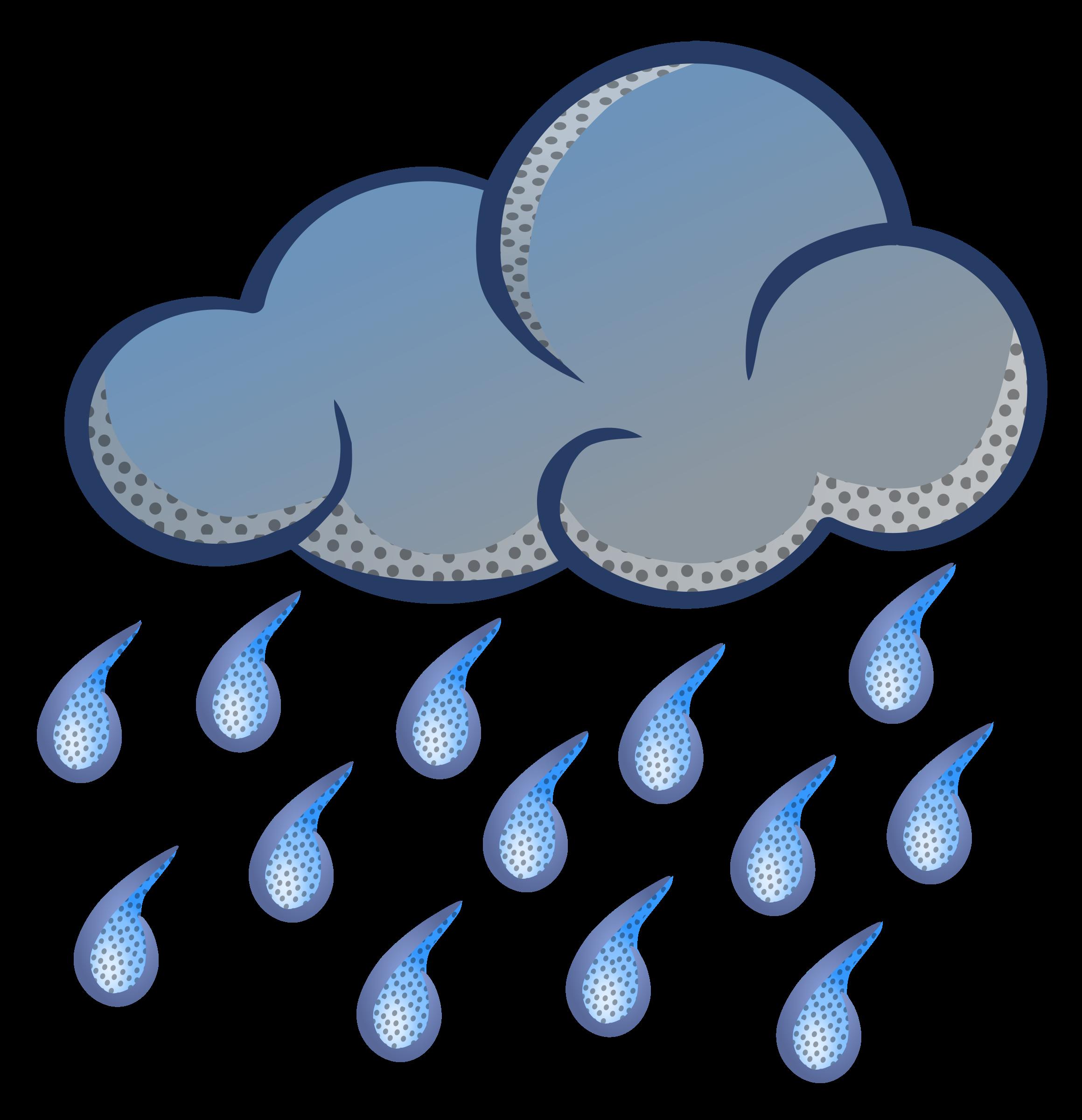 2319x2400 Rain Clipart Image Clip Art Rain Clouds 2