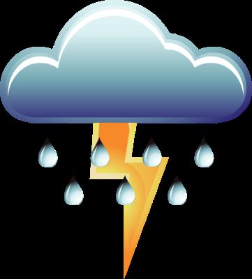 361x400 Rain Clipart Thunderstorm