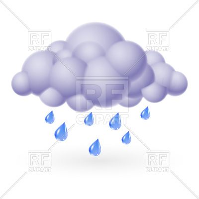 400x400 Rainy Cloud