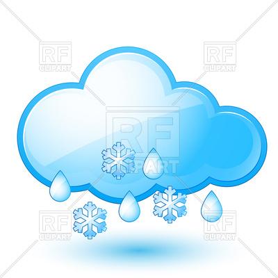 400x400 Snow With Rain