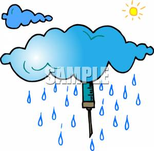 300x295 Syringe Hidden In A Rain Cloud