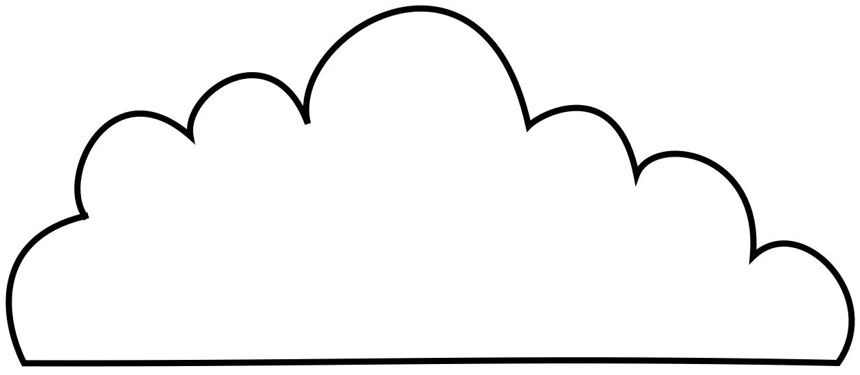 1251x546 Cloud Black And White White Cloud Clipart 3