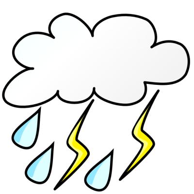 400x400 Best Rain Cloud Clipart