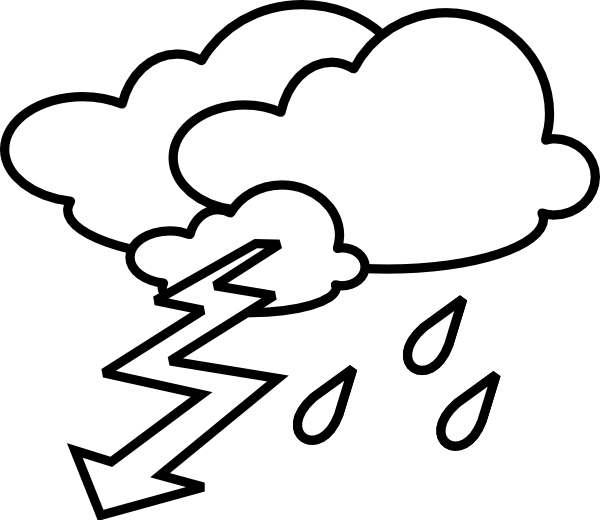 600x520 Rain And Wind Clipart