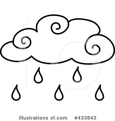 400x420 Rain Clipart