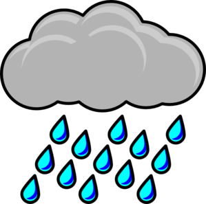 299x297 Rain Cloud Clip Art