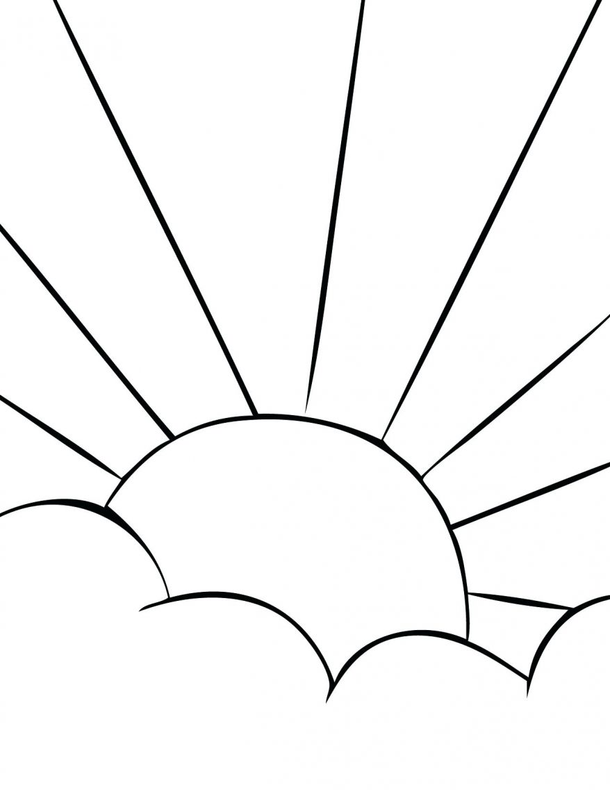 878x1136 Sun Clip Art Print This Page Our Solar System Coloring Pages 64