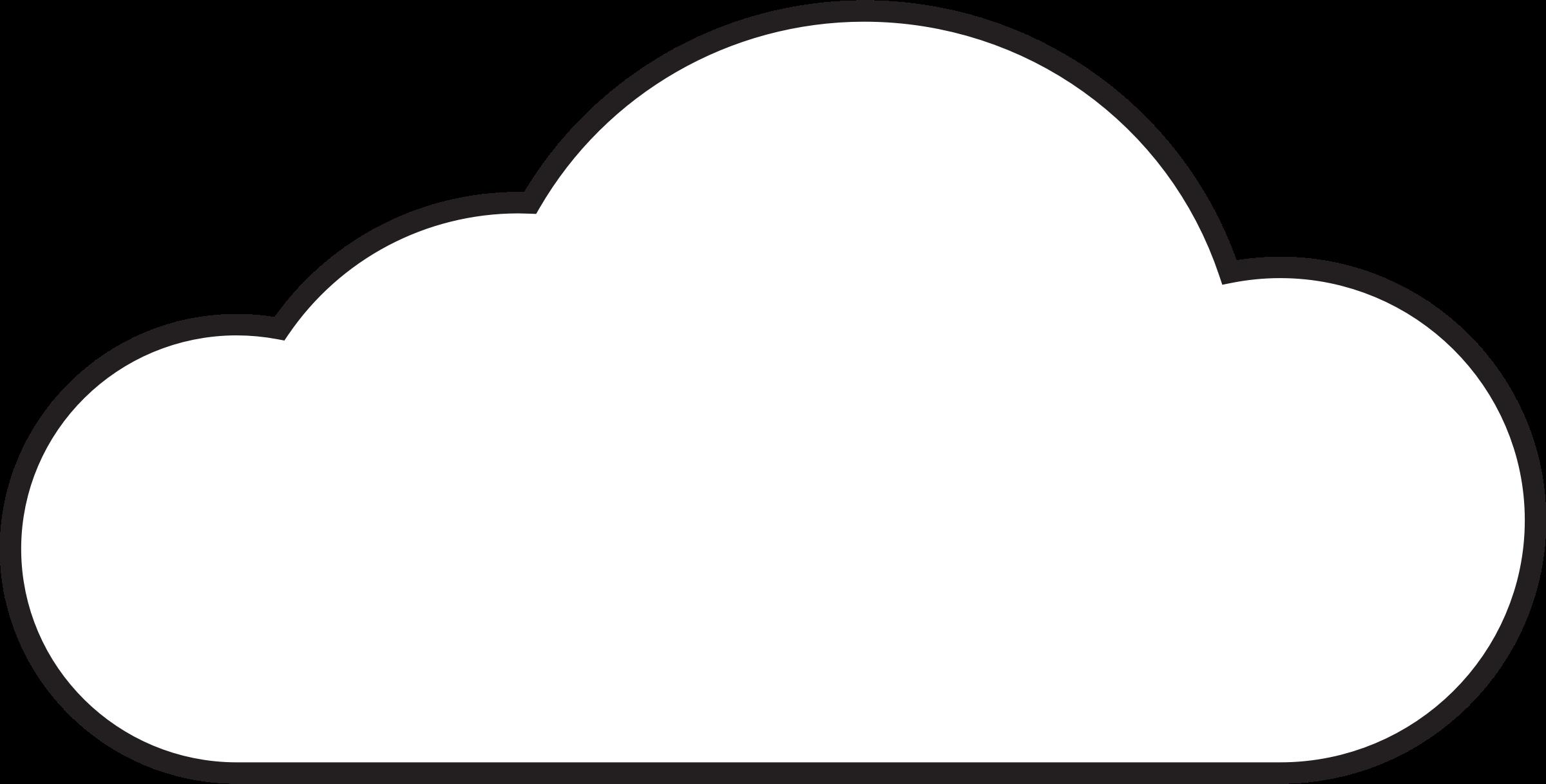 2400x1218 Top 73 Cloud Clip Art