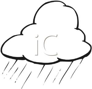 300x291 And White Rain Cloud Clipart Image