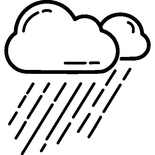 512x512 Rainy, Cloud, Weather, Rain Icon