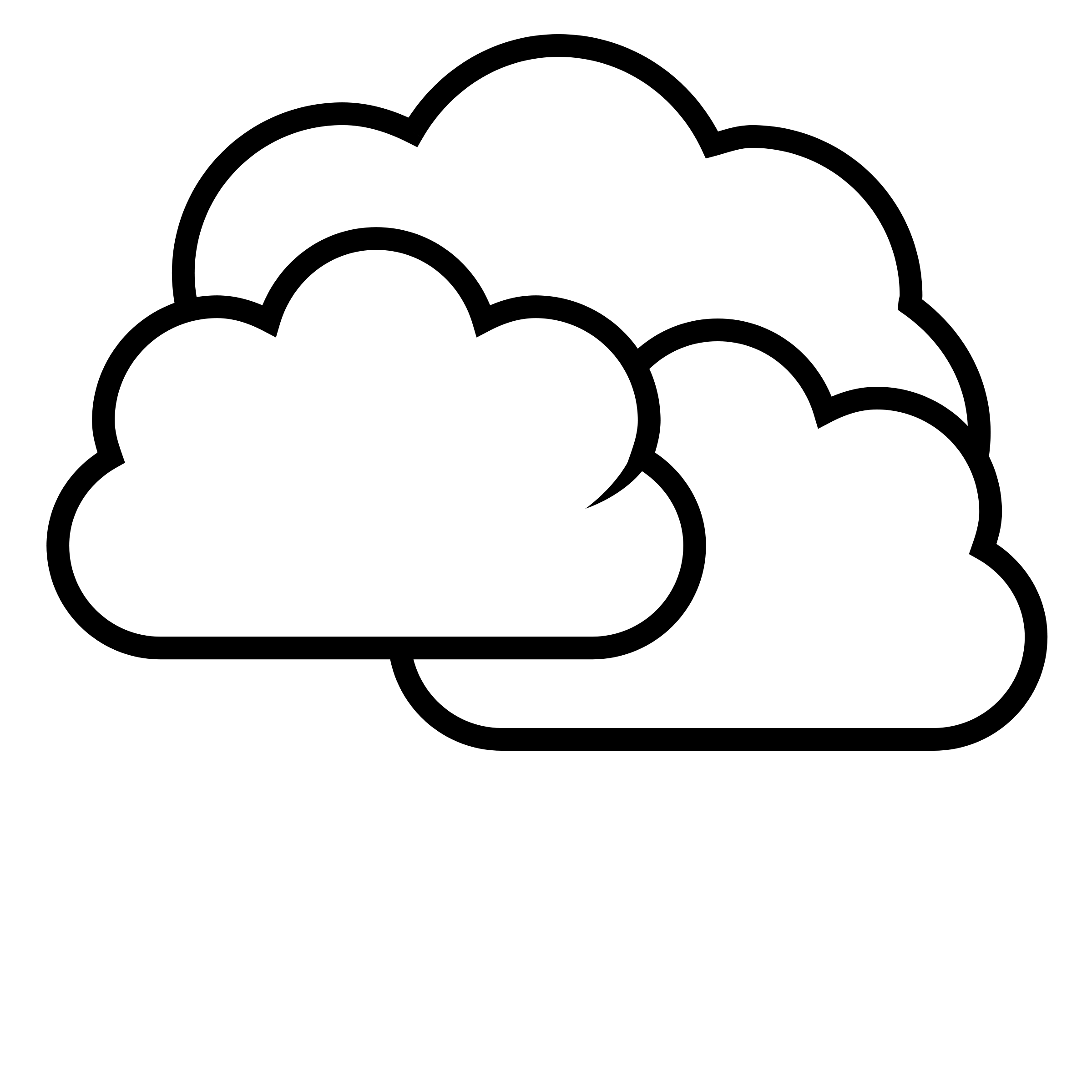 2400x2400 Cloud Black And White Cloud Clip Art Black And White Free Clipart