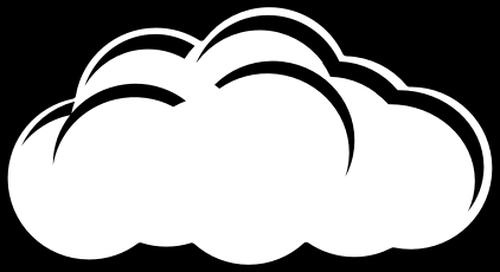 500x272 Cloud Black And White White Cloud Clipart