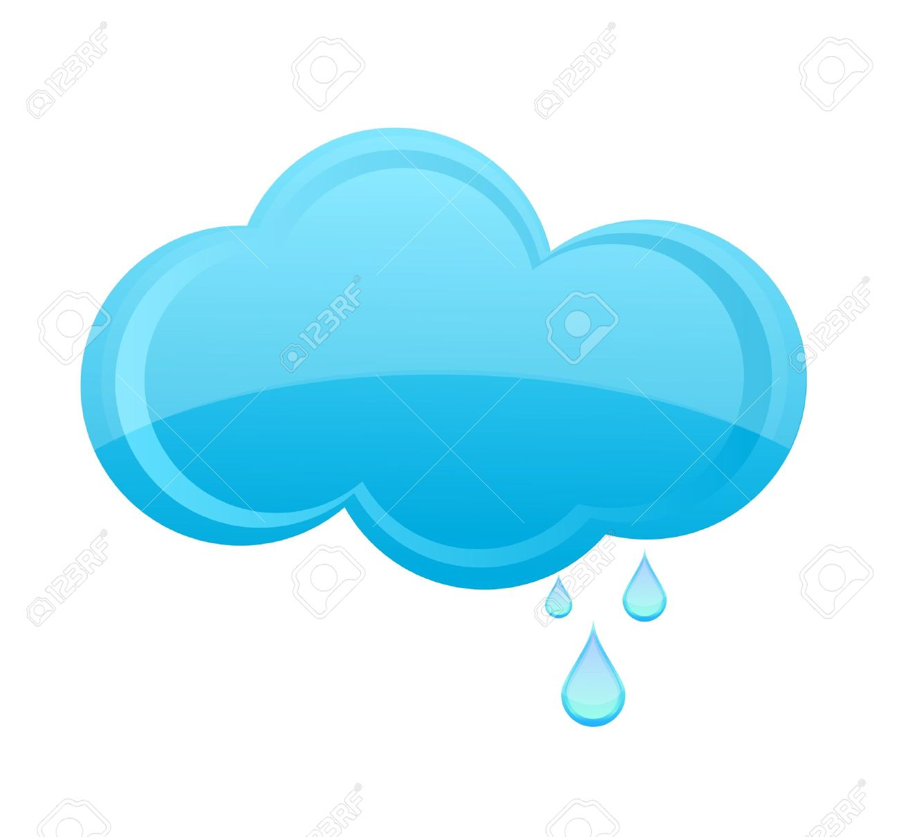 1300x1210 Glass Weather Rain Cloud Sign Blue Color Royalty Free Cliparts