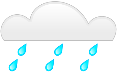 373x235 Rain Cloud Clipart 21