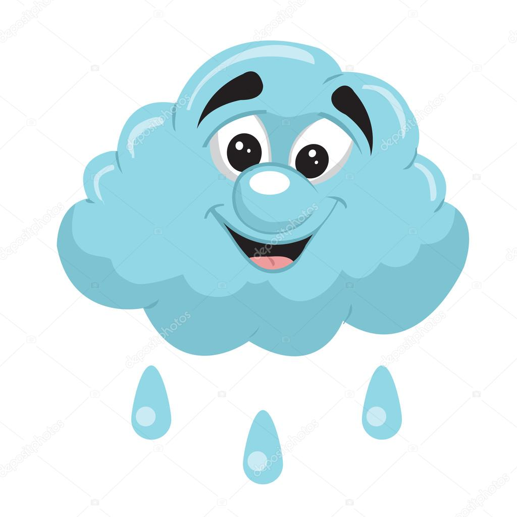 1024x1024 Rain Cloud Stock Vector Barrhope