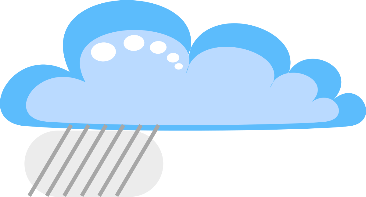 1200x646 Drakoon Rain Cloud 3 Clipart By Jogdragoon Artist Cliparts 2