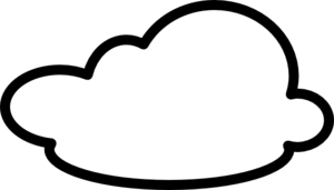 300x171 White Cloud Clipart No Background Free 2