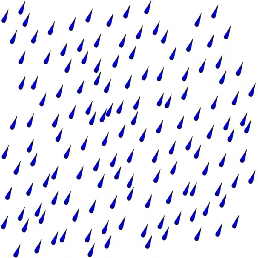 864x864 Raindrop Rainbow And Rain Clipart Wikiclipart
